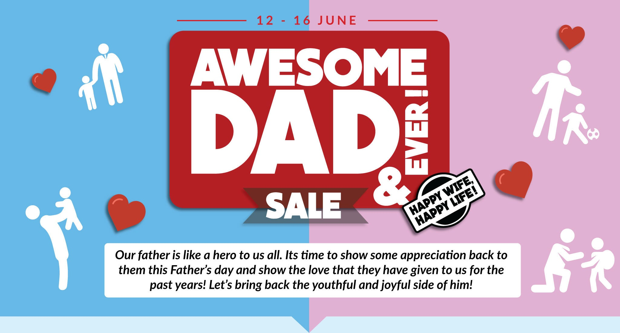 Awesome Dad Ever Sale!