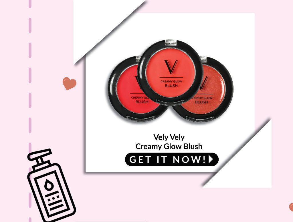 Vely Vely Creamy Glow Blusher - 50% OFF 2nd pc!