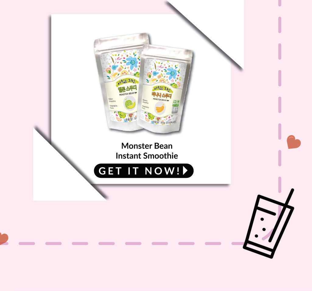 Monster Bean Smoothie - 50% OFF 2nd Pack