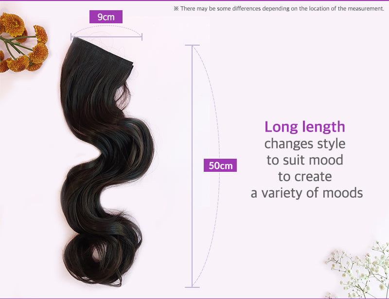 Belleum Long Glossy Hair Extensions
