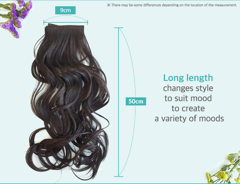 Belleum Long Natural Wave Hair Extensions
