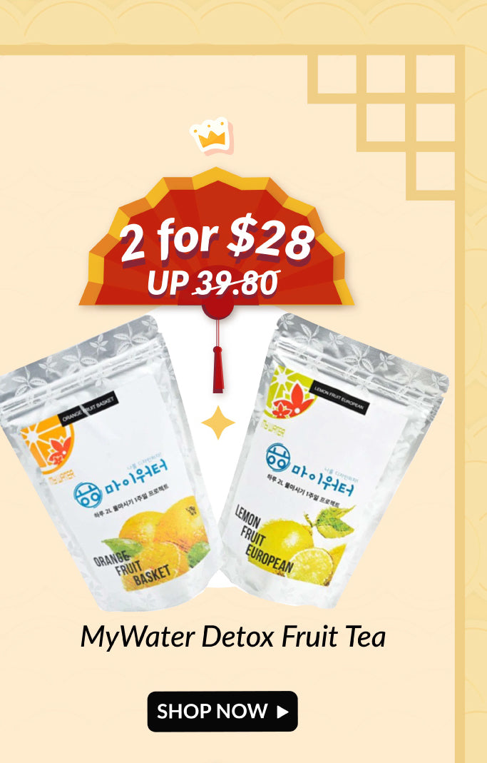 MyWater Detox Fruit Tea Double Deals