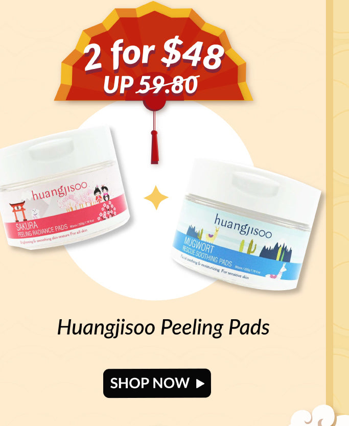 Huangjisoo Toner Pads Double Deals