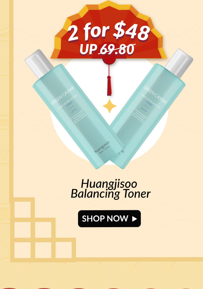 Huangjisoo Green Caviar Toner Double Deals