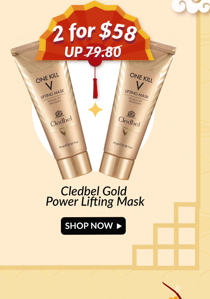 Cledbel Gold Lifting Mask Double Deals