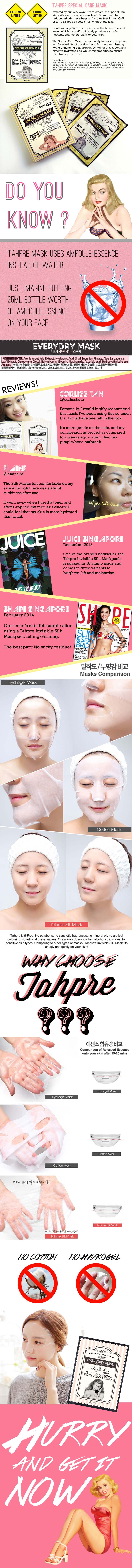 Tahpre Special Care Mask - Anti Aging