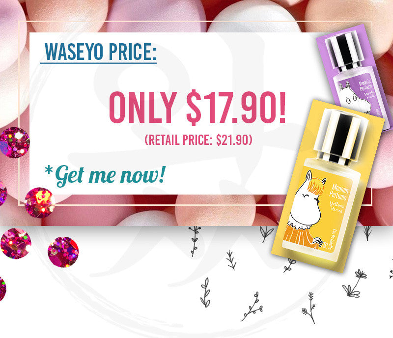 Our Moomin Spray Perfumes are only $17.90! Get them now!