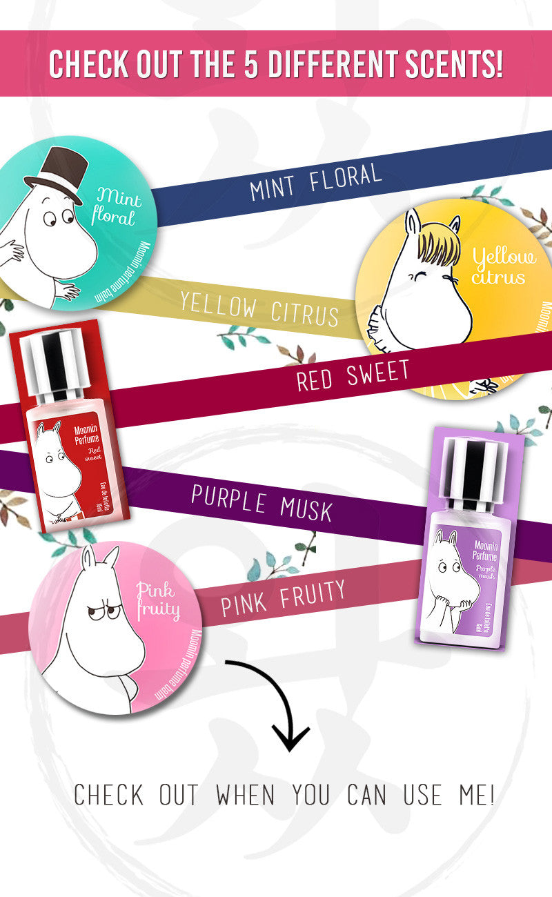 Check out the five different scents our Spray Perfume has to offer!