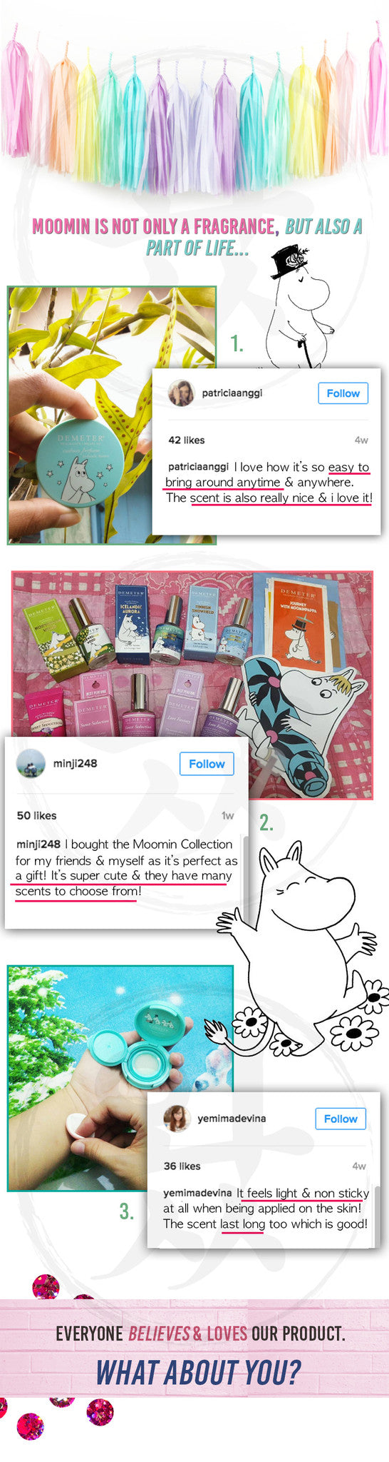 Check out what our customers have to say about our Moomin Products!