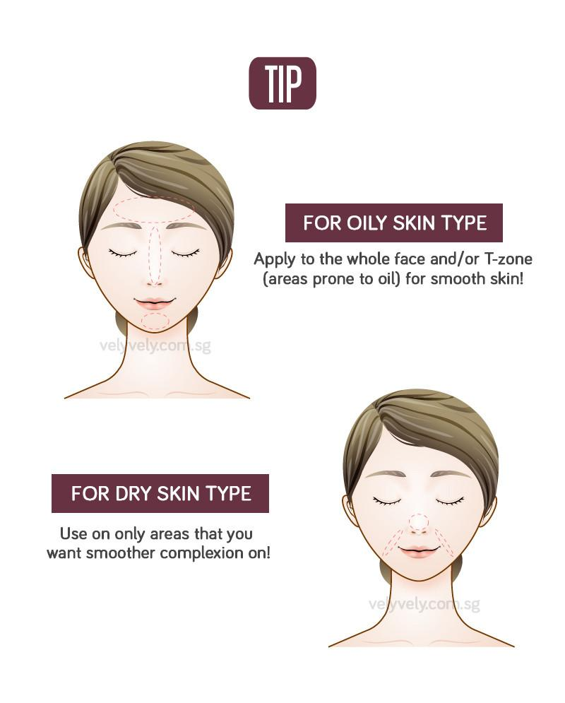 Tip for oily and dry skin~