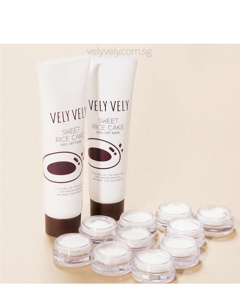 Korea's Cosmetic Brand, Vely Vely Sweet Rice Cake Peel-Off Mask
