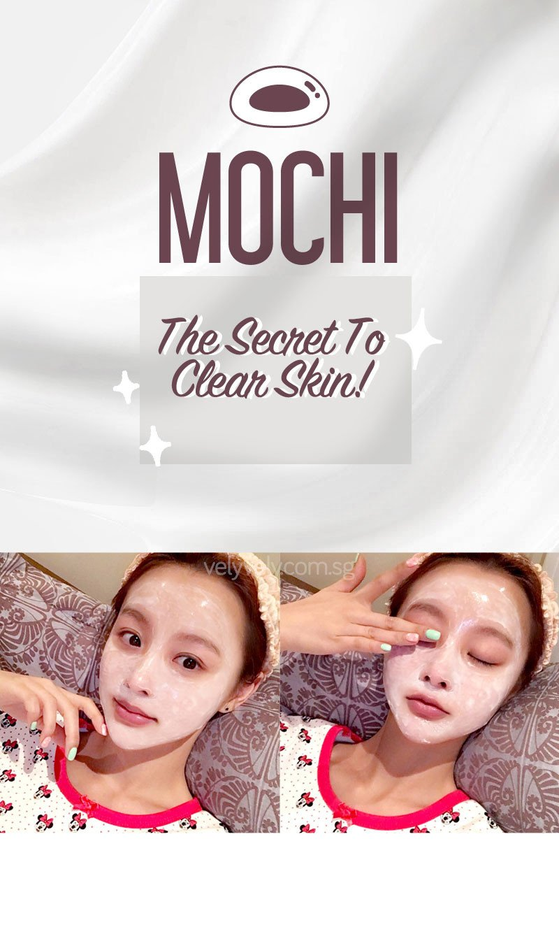 Korea's Cosmetic Brand, Vely Vely Sweet Rice Cake Peel-Off Mask - the secret to clear and flawless Korean skin!