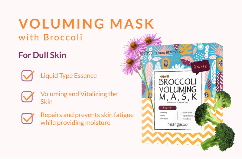Voluming Mask with Broccoli