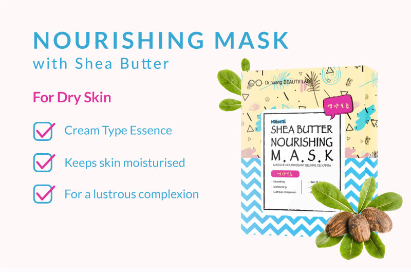 Nourishing Mask with Shea Butter for Dry Skin