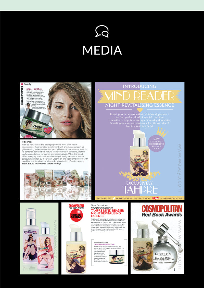 Featured on popular female magazines like CLEO and Cosmopolitan