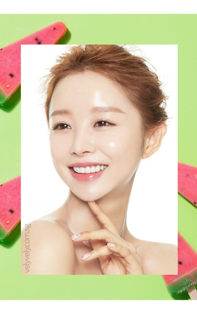 Keep your skin healthy and glowy with Korea's Cosmetic Brand Vely Vely Waterfall Sunessence Sunblock today!