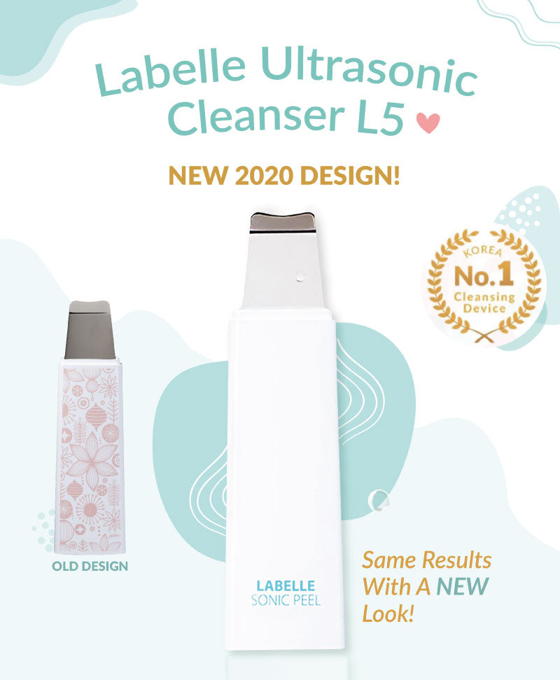 Introducing the New 2020 Design of Labelle 5 Ultrasonic Cleanser! New Design but works just as well!