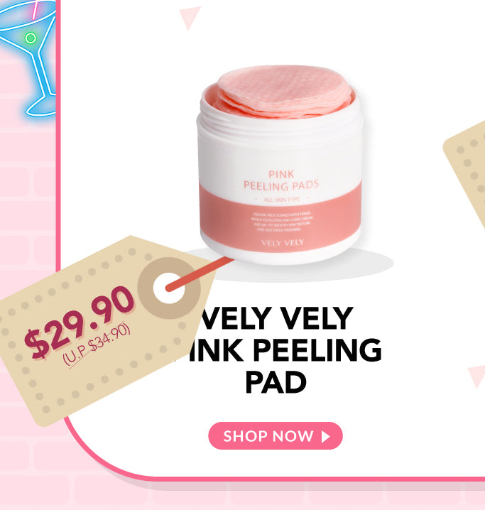 Vely Vely Pink Peeling Pads