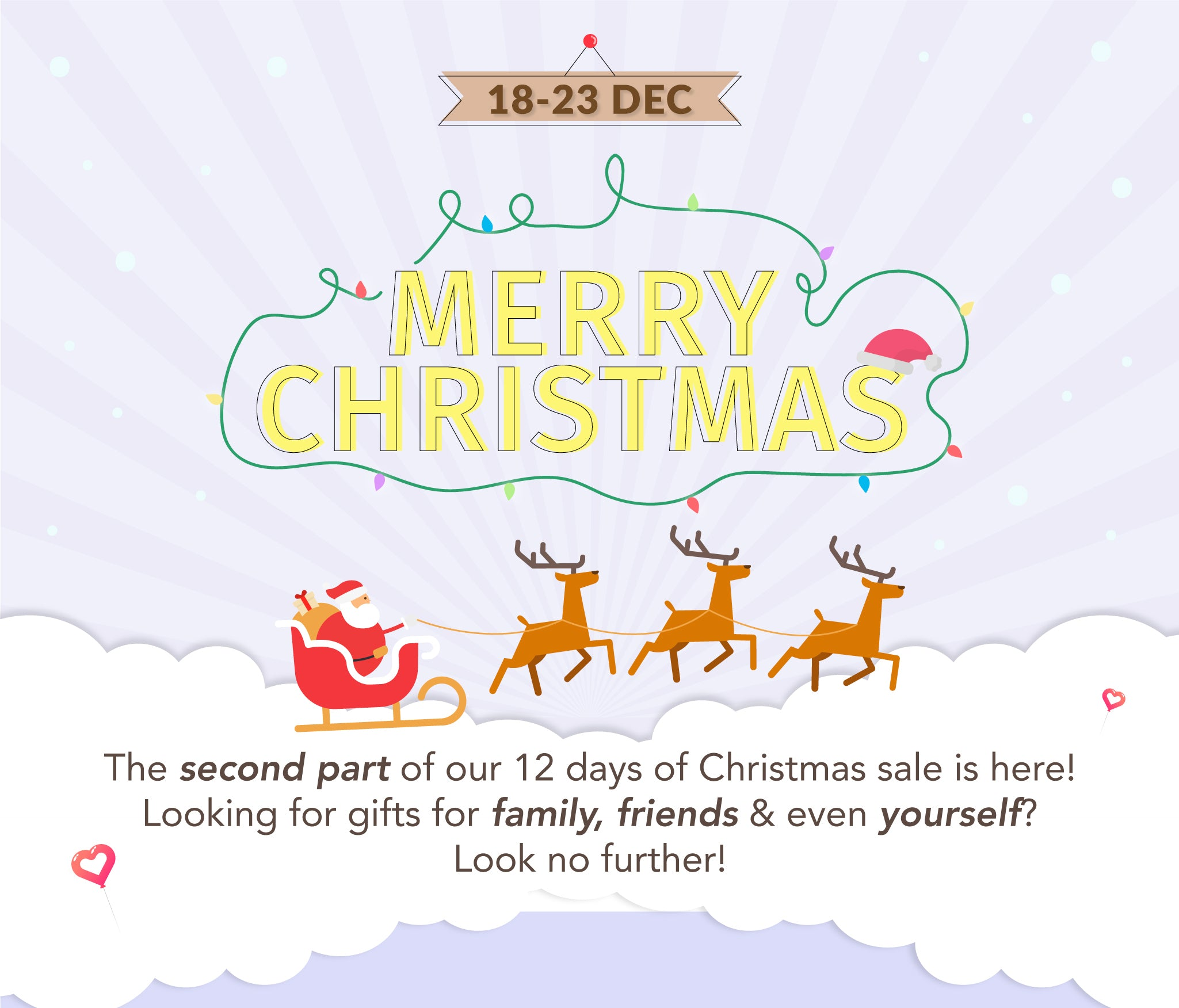 Christmas Sale Part 2