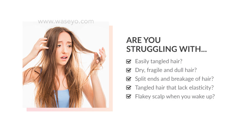 Are you looking for hair treatment for dry hair, damaged hair, frizzy hair. Do you have split ends, hair breakage, easily tangled hair