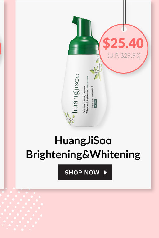 Huangjisoo Brightening and Whitening Cleanser