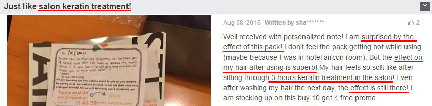 Check out what our customers have to say about our Yuchoo Hair Pack!