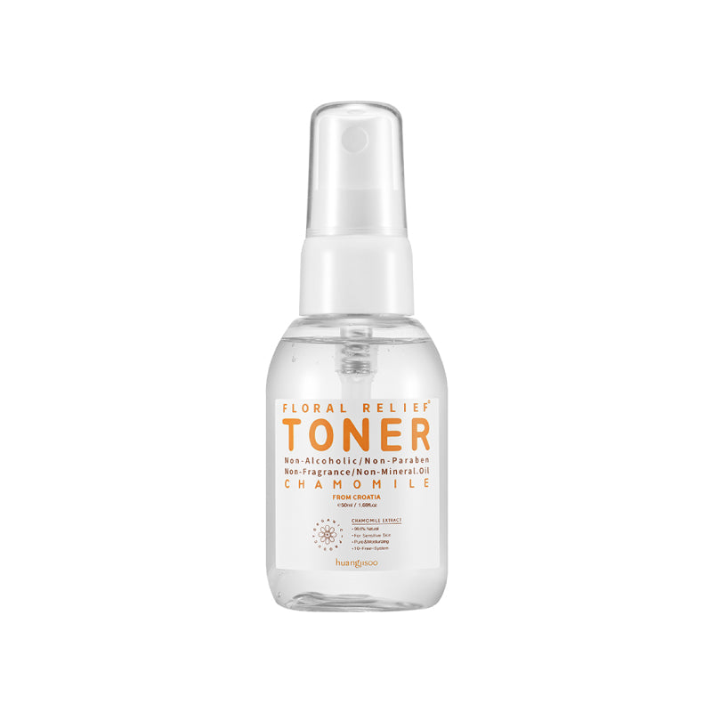 Huangjisoo Floral Relief Chamomile Toner - 50ml