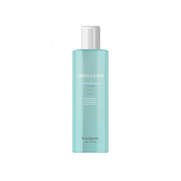 [CNY Double Happiness Deals] Huangjisoo Green Caviar Comfort Balancing Toner - 500ml
