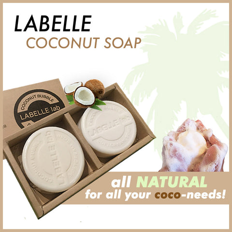 Labelle Coconut Facial Bar Soap