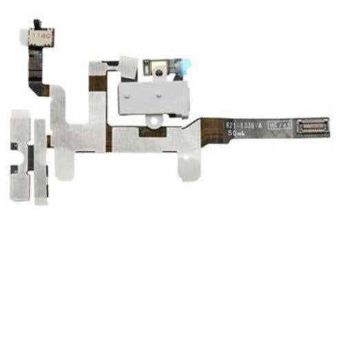 FLAT JACK AUDIO VOLUME PER APPLE IPHONE 4S BIANCO COMPATIBILE