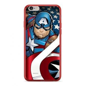 CUSTODIA COVER ORIGINAL MARVEL CAPITAN AMERICA CHROME RED COMPATIBILE CON IPHONE XS MAX