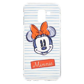 COVER CUSTODIA DISNEY  MINNIE PHONE CASE WHITE BIANCA SAMSUNG J6 2018