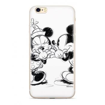 COVER CUSTODIA DISNEY TOPOLINO E MINNIE PHONE CASE WHITE BIANCA SAMSUNG J6 2018