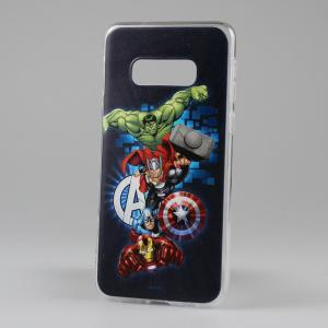 COVER CUSTODIA MARVEL PHONE CASE AVENGERS BLU SAMSUNG S10e LITE