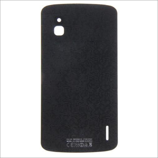 BACK COVER VETRO PER GOOGLE NEXUS 4 COMPATIBILE