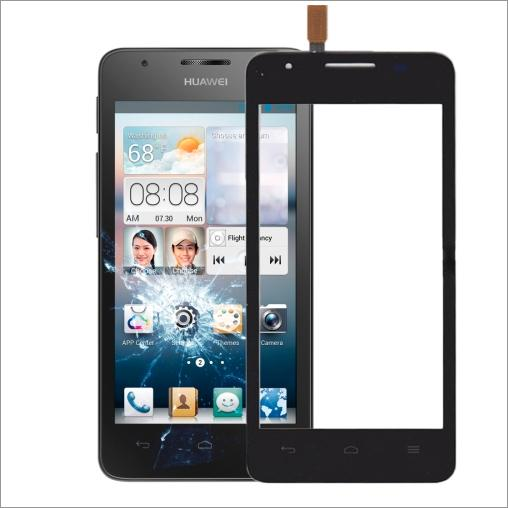 VETRO TOUCH SCREEN PER HUAWEI ASCEND G510 NERO U8951 T8951 COMPATIBILE