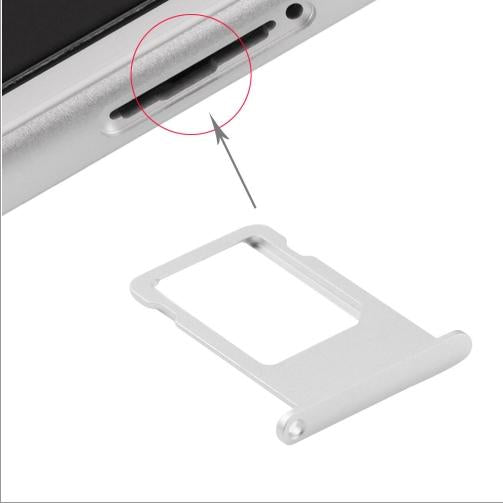 CARRELLO SIM PER APPLE IPHONE 6S SILVER COMPATIBILE