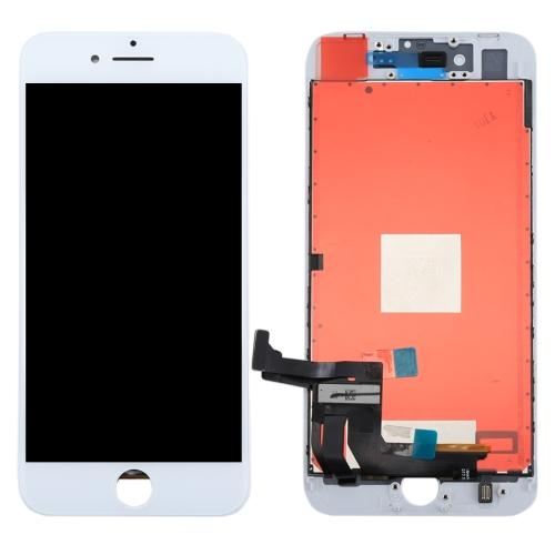 DISPLAY VETRO LCD TOUCH SCREEN FRAME RICAMBIO COMPATIBILE CON APPLE IPHONE 8 PLUS 8+ BIANCO NUOVO AAA