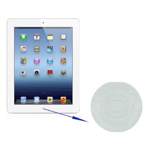 TASTO HOME ACCENSIONE PER APPLE NEW IPAD 3 4 BIANCO COMPATIBILE