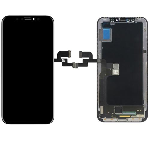 DISPLAY VETRO AMOLED OLED TOUCH SCREEN FRAME RICAMBIO COMPATIBILE CON APPLE IPHONE X 10 NERO BLACK
