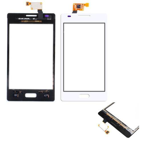 VETRO TOUCH SCREEN PER LG OPTIMUS L5 E610 BIANCO COMPATIBILE - BOMAItalia.com