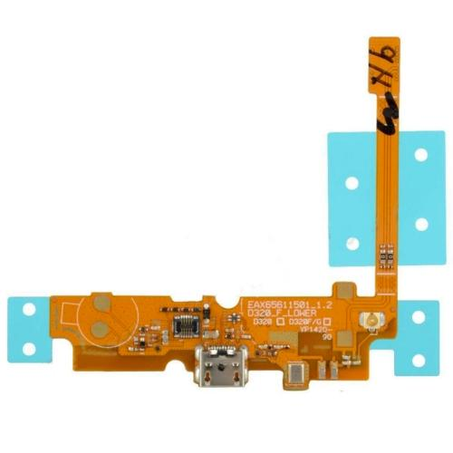 FLAT CONNETTORE DI RICARICA PER LG OPTIMUS L70 D321 D325 MS323 COMPATIBILE