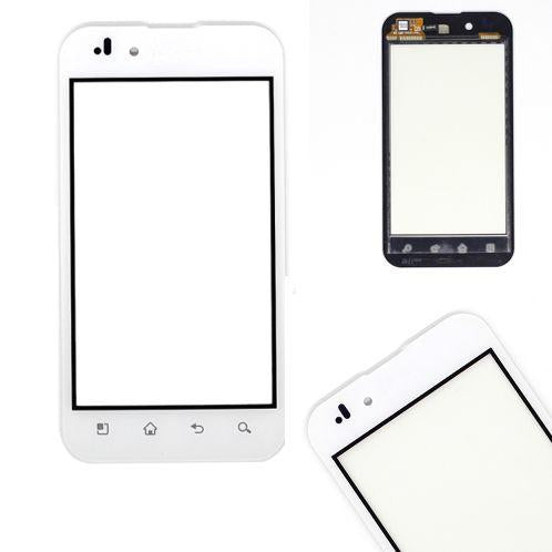DISPLAY TOUCH SCREEN RICAMBIO VETRO LG OPTIMUS P970 BIANCO ALTA QUALITA'