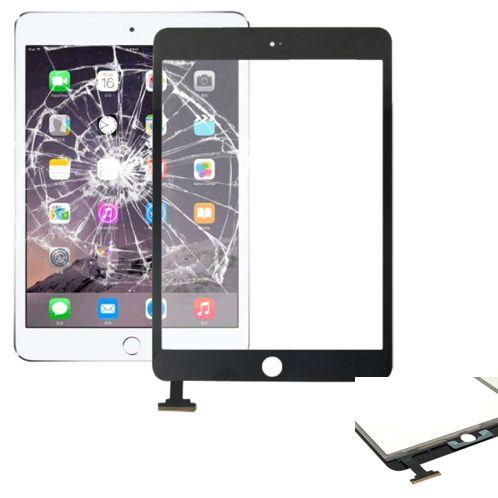 VETRO TOUCH SCREEN PER APPLE IPAD MINI 3 RETINA NERO COMPATIBILE
