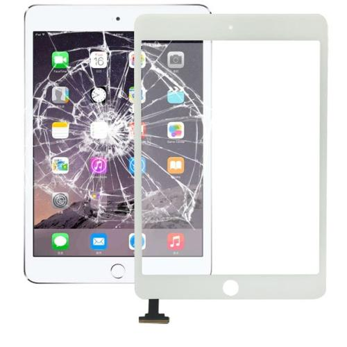 VETRO TOUCH SCREEN PER APPLE IPAD MINI 3 RETINA BIANCO COMPATIBILE - BOMAItalia.com