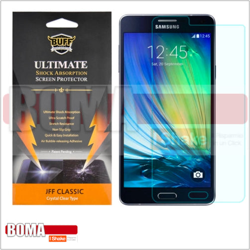 PELLICOLA PROTEZIONE DISPLAY ANTI SHOCK ANTI URTO SAMSUNG GALAXY A7 A700 EXPLOSION PROOF