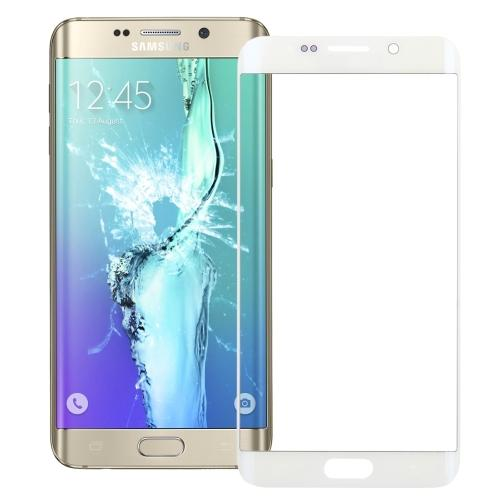 VETRO FRONTALE PER SAMSUNG GALAXY S6 EDGE+ PLUS G928 BIANCO COMPATIBILE
