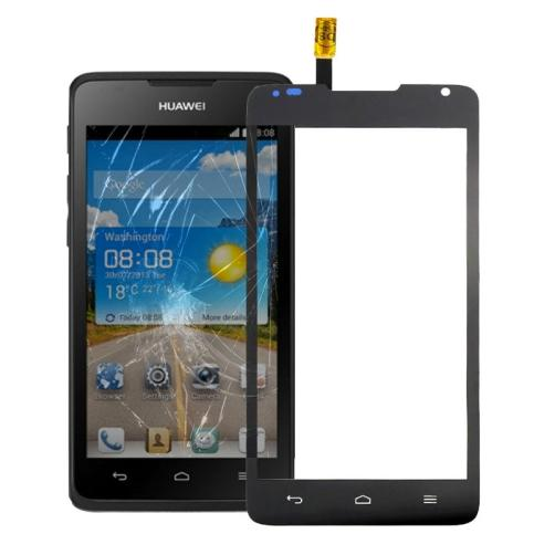 VETRO TOUCH SCREEN PER HUAWEI ASCEND Y530 NERO COMPATIBILE