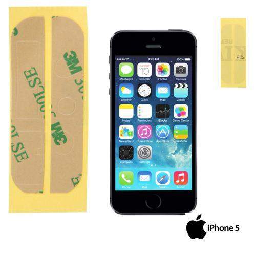 ADESIVO BIADESIVO 3M APPLE IPHONE 5 RIPRAZIONE VETRO TOUCH SCREEN