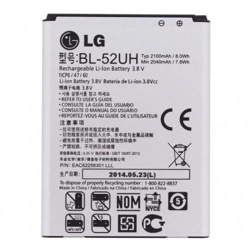 BATTERIA PER LG OPTIMUS L65 D280 L70 D320 BL-52UH COMPATIBILE